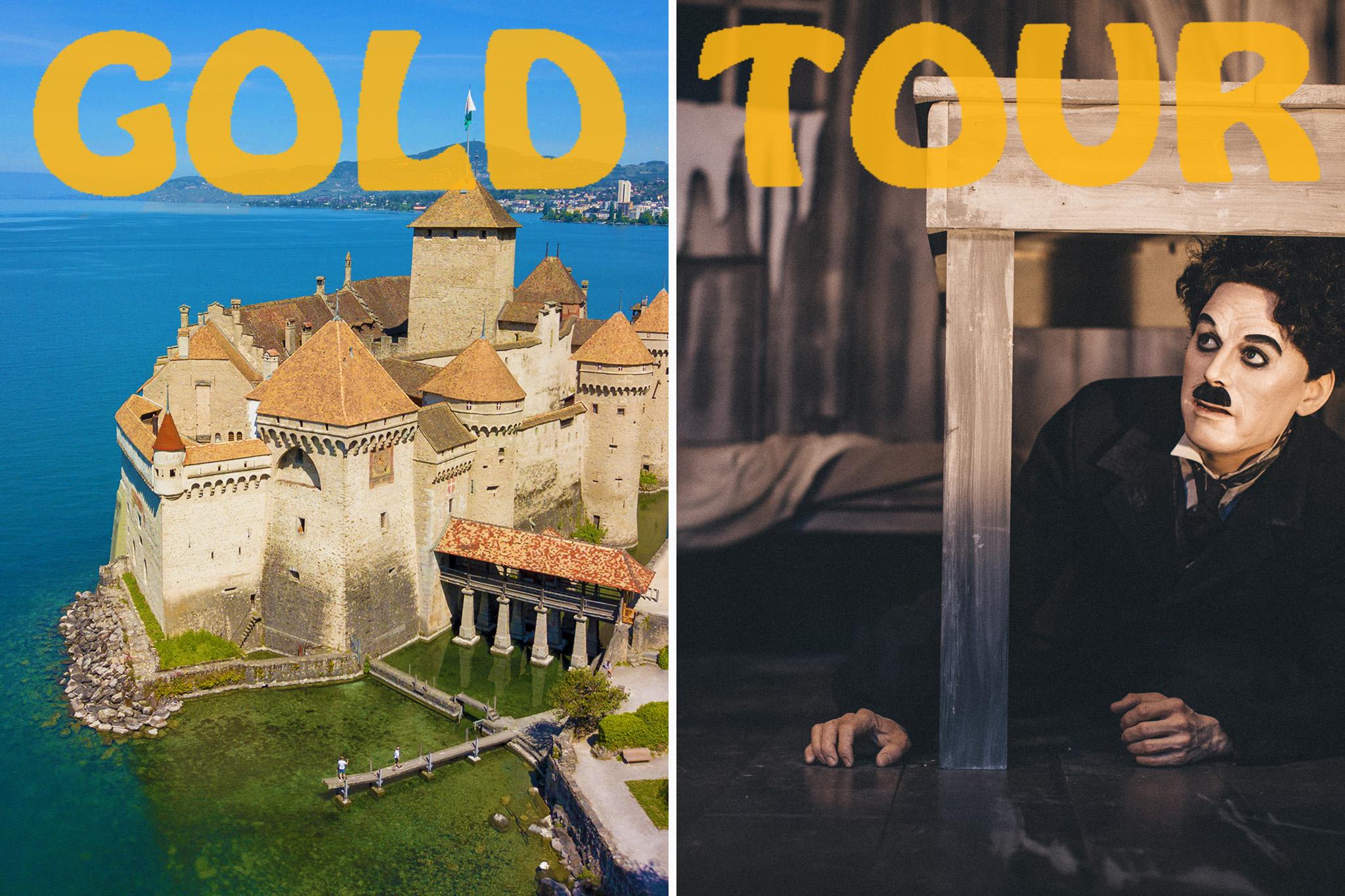 Gold Chaplin