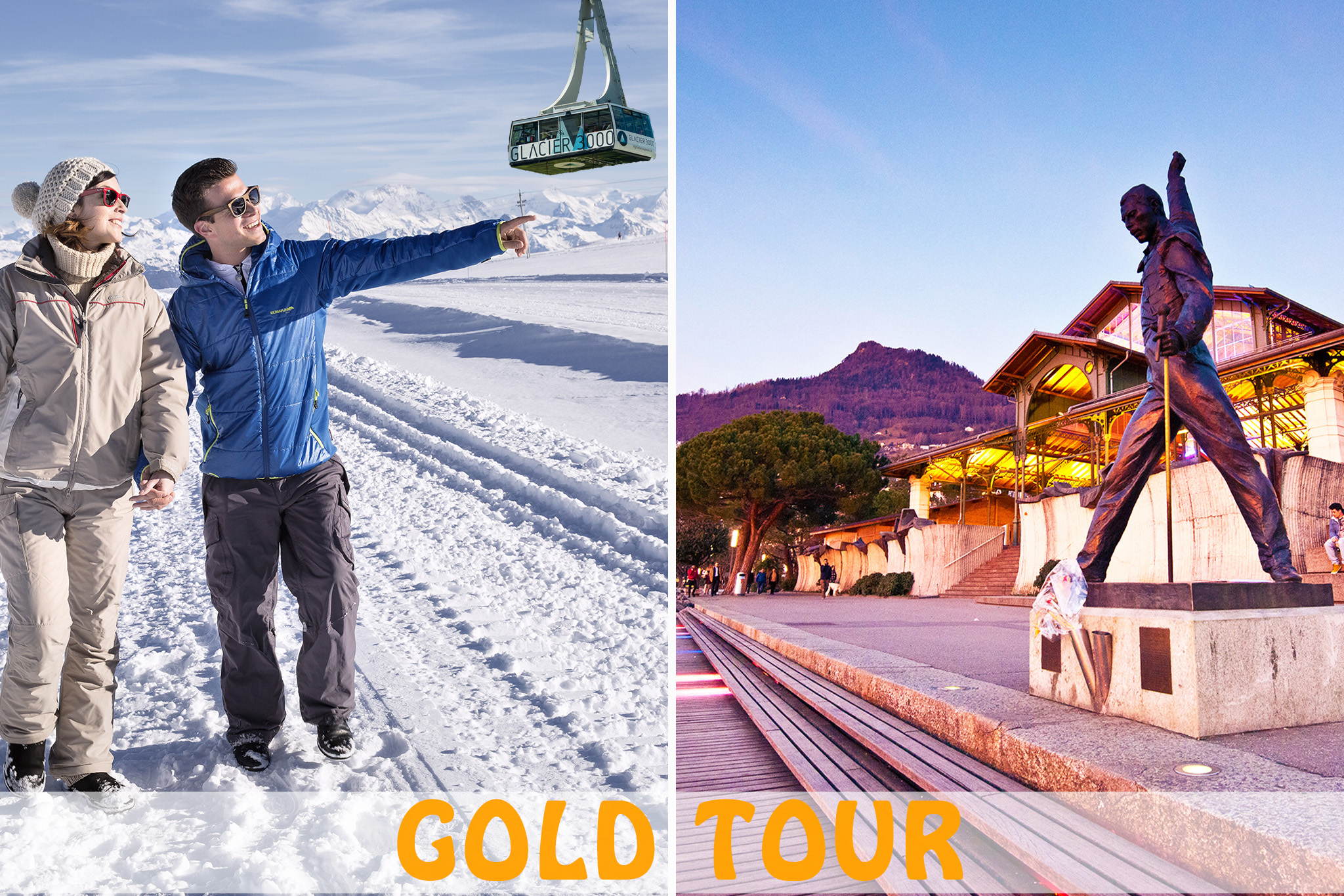 Gold Glacier 3000