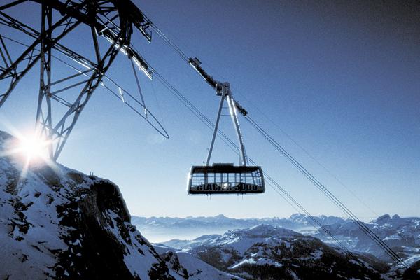 téléphérique/cable-car glacier 3000