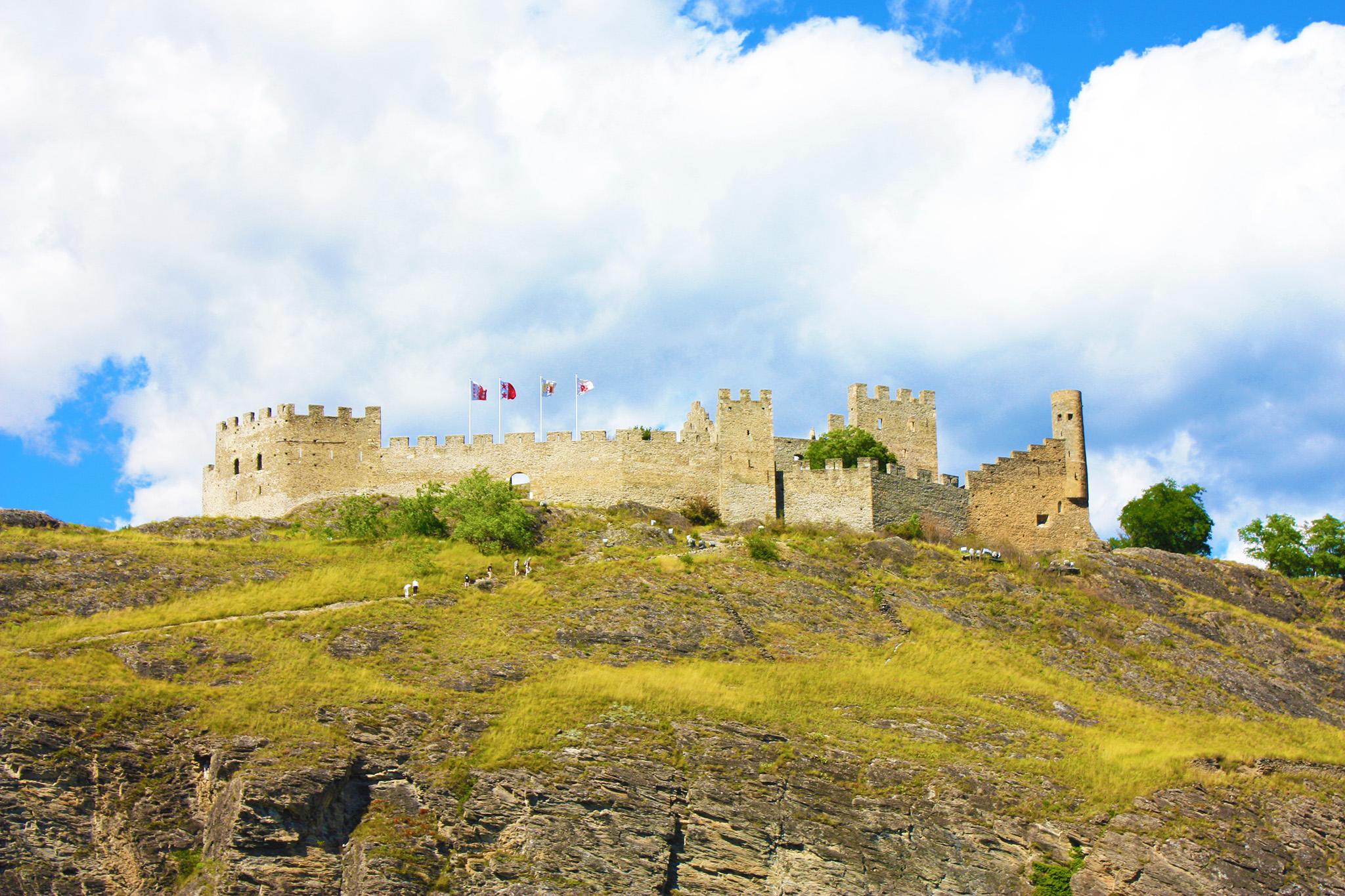 Château de Tourbillon à Sion