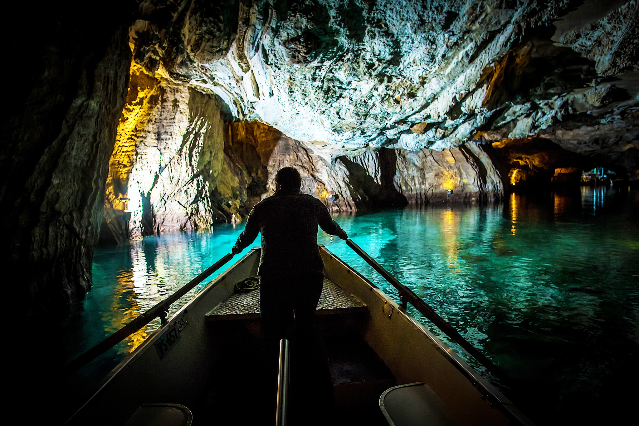 Lac souterrain Saint Leonard